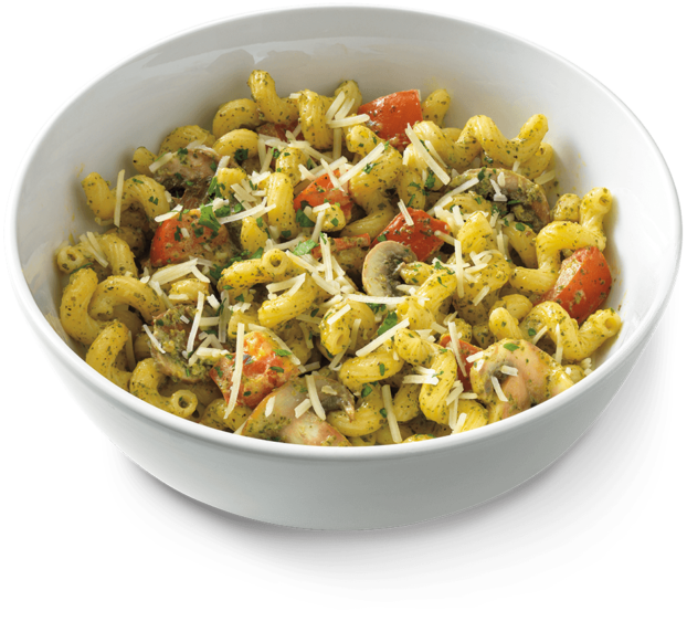 pesto cavatappi recipe from noodles well traveled wife #30044