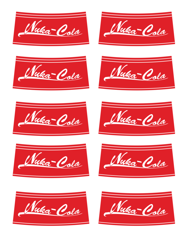 picture about Nuka Cola Printable Labels referred to as Nuka Cola Png Emblem - Free of charge Clear PNG Emblems