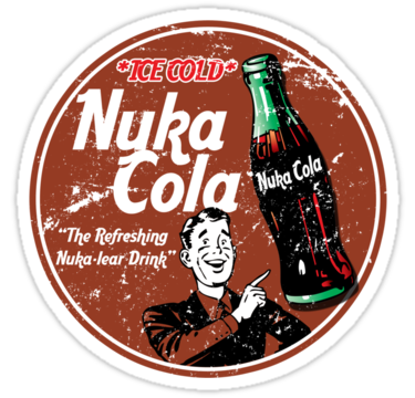 nuka cola t shirt heat transfer our funny png logo