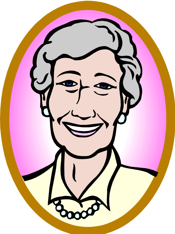 elderly lady clipart clipart collection royalty #20924