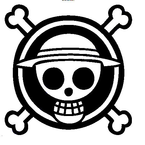 one piece logo transparent png