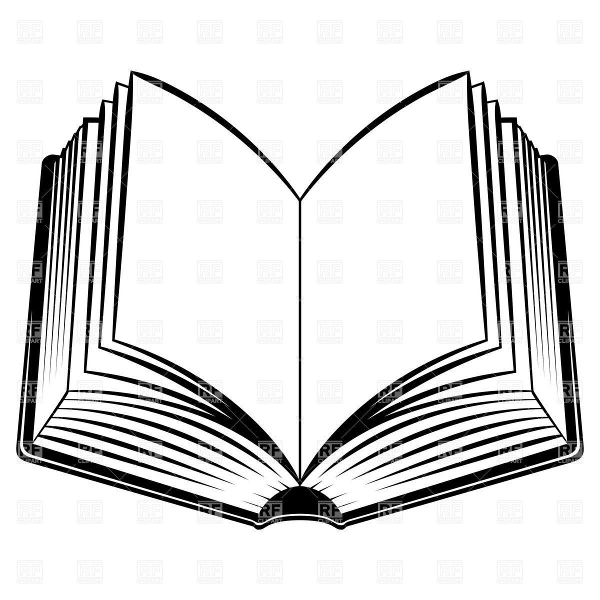 open book colouring pages download clip art #31498