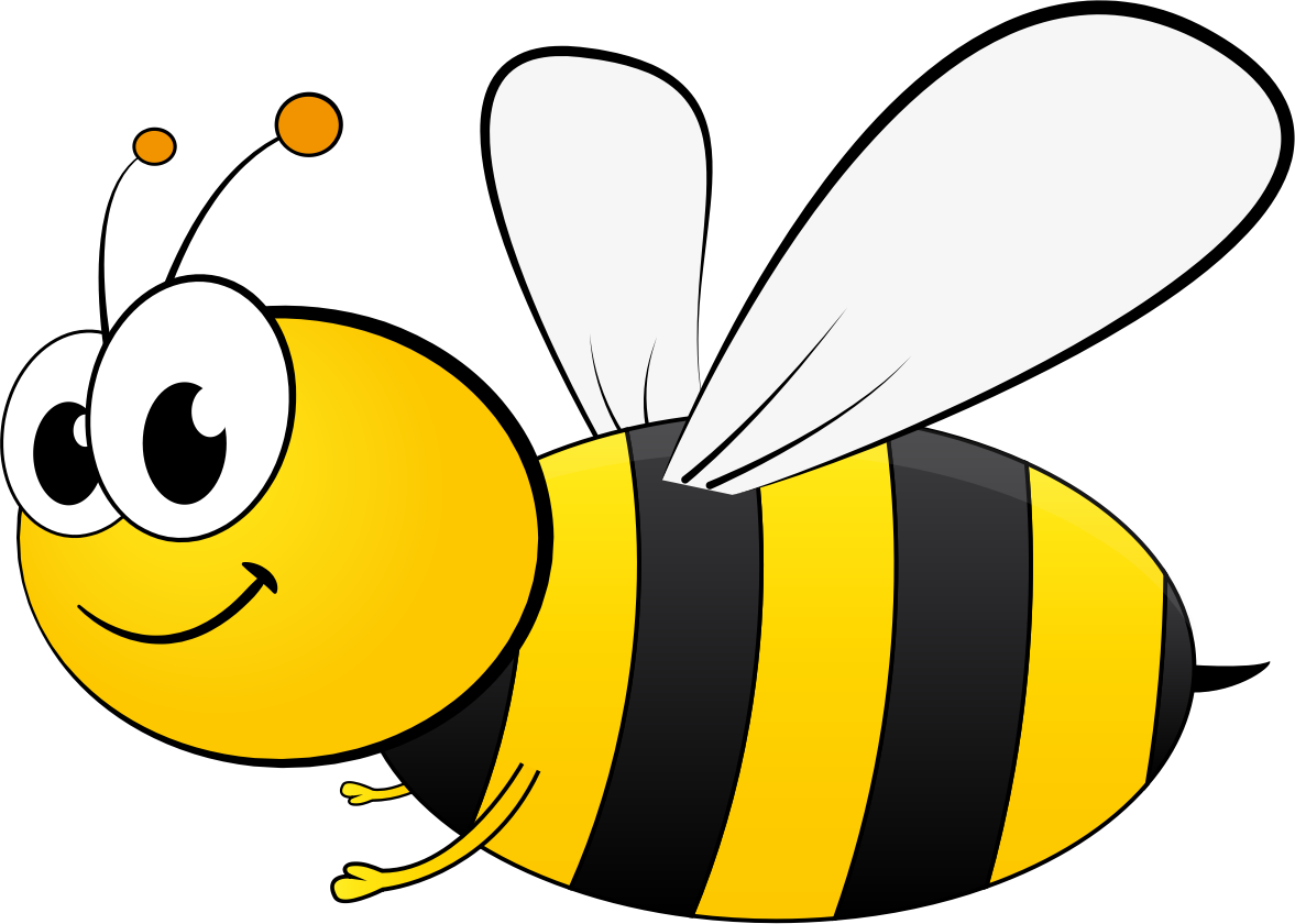 openclipart, cartoon bee gdj cartoon bee from pixabay #31477