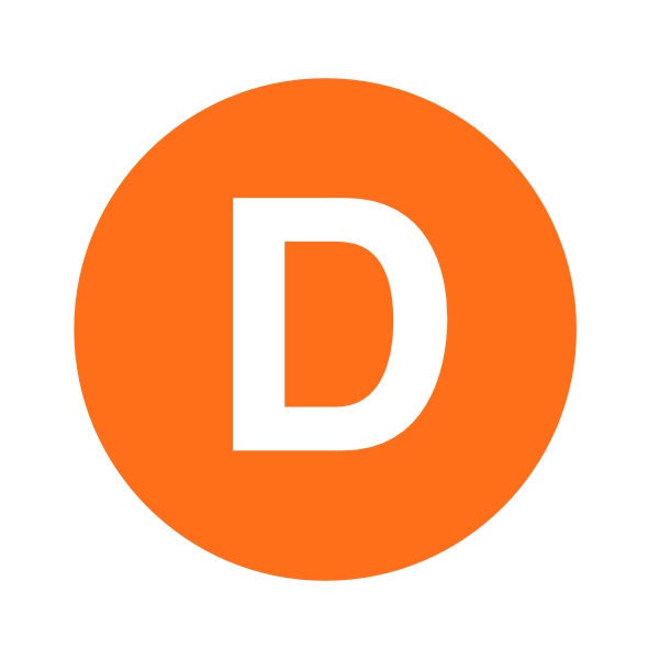 Orange Letter D Dr Odd logo png #1377