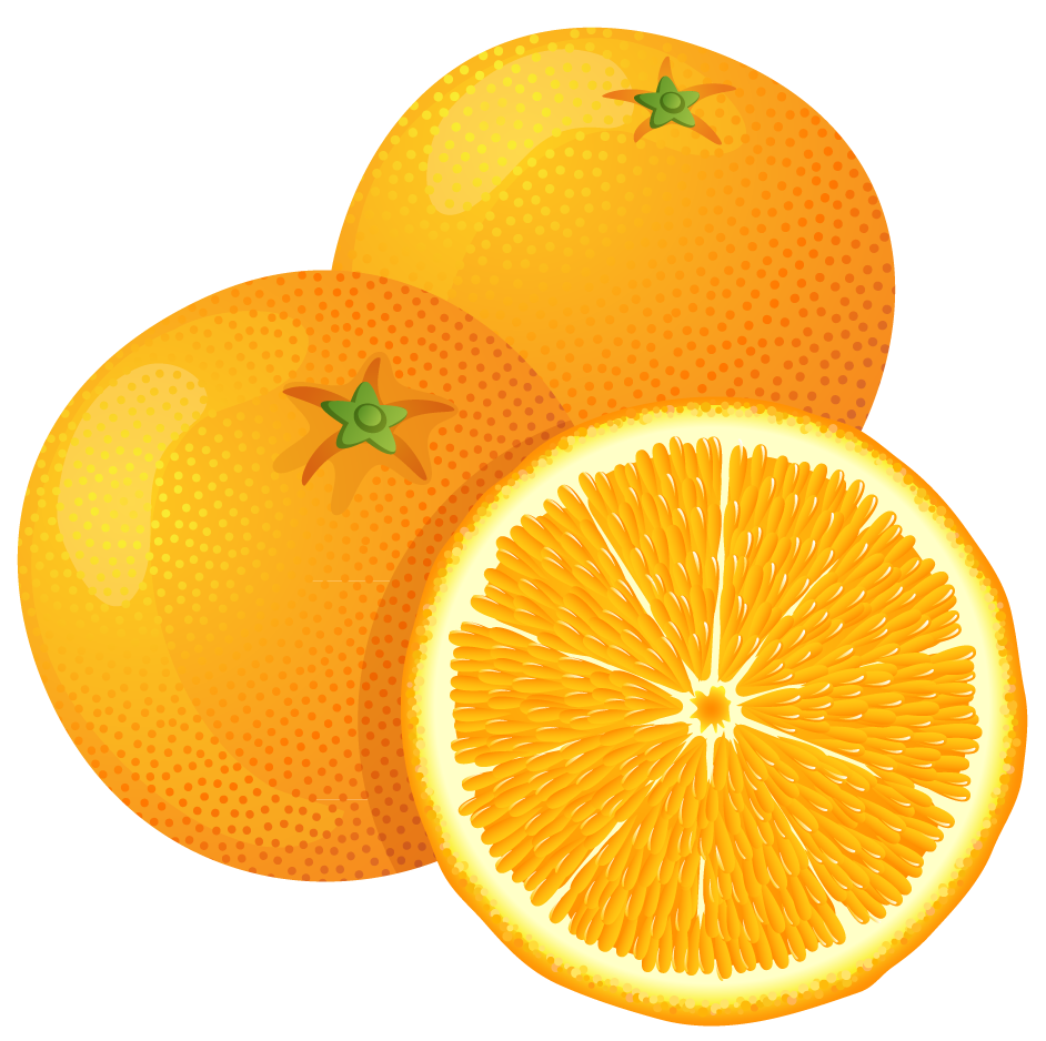 cartoon orange tree clipart best #15353