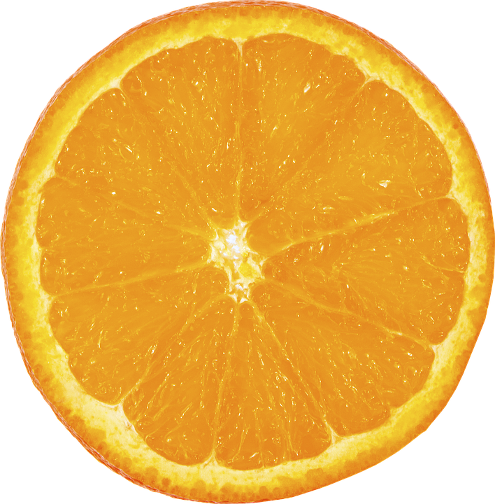 fruit orange slice photo pixabay #15312