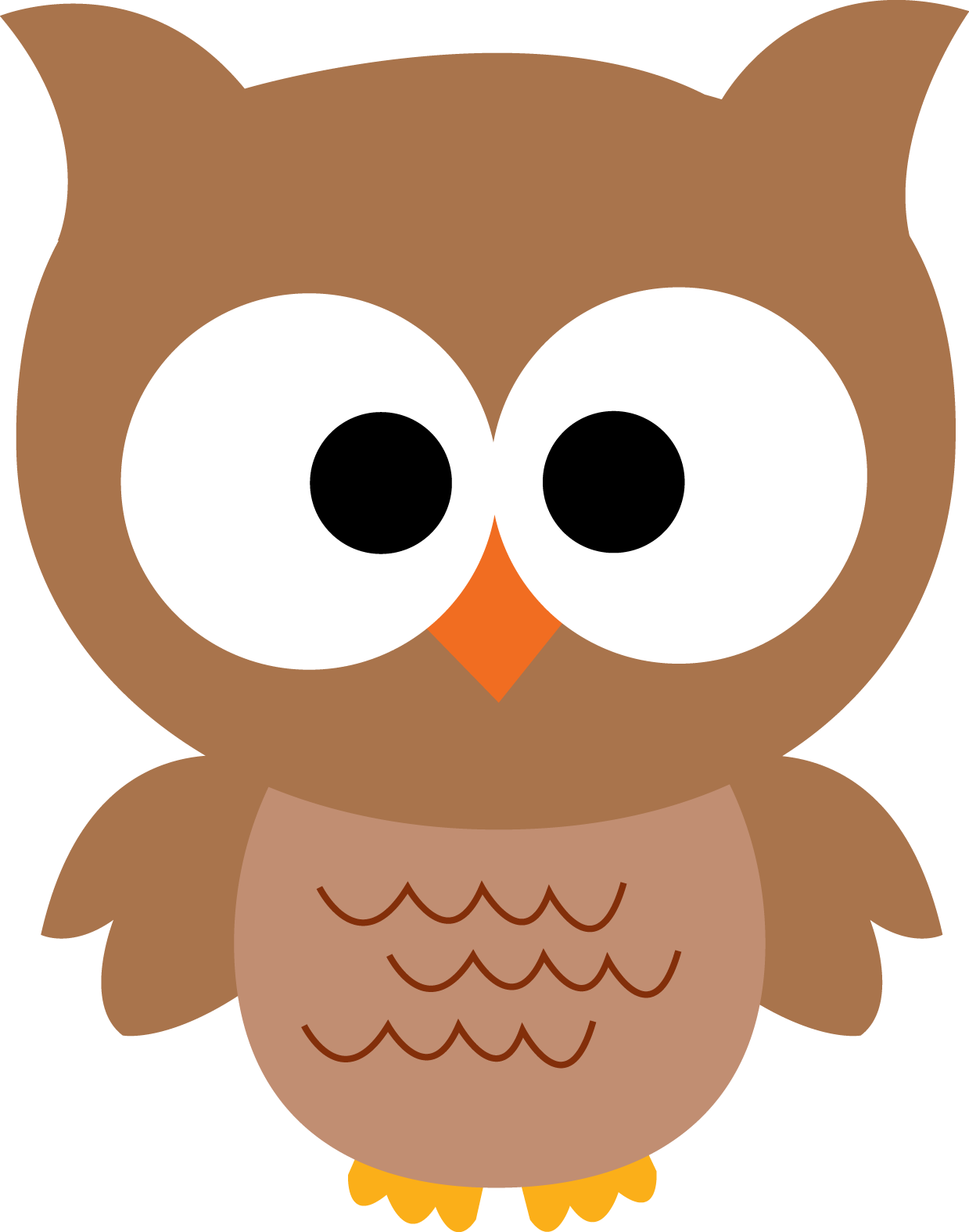 owl clipart, nocturnal bird owl coloring pages pictures cartoon clip #31623