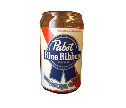 drink pabst blue ribbon can png logo 5931
