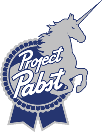 project pabst blue ribbon png logo