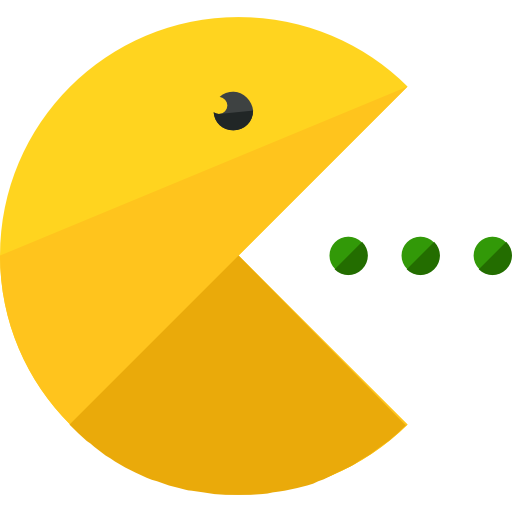 pacman gaming icons #25777