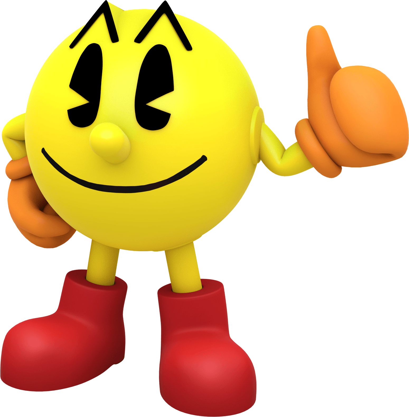pacman large standing transparent png stickpng #25789