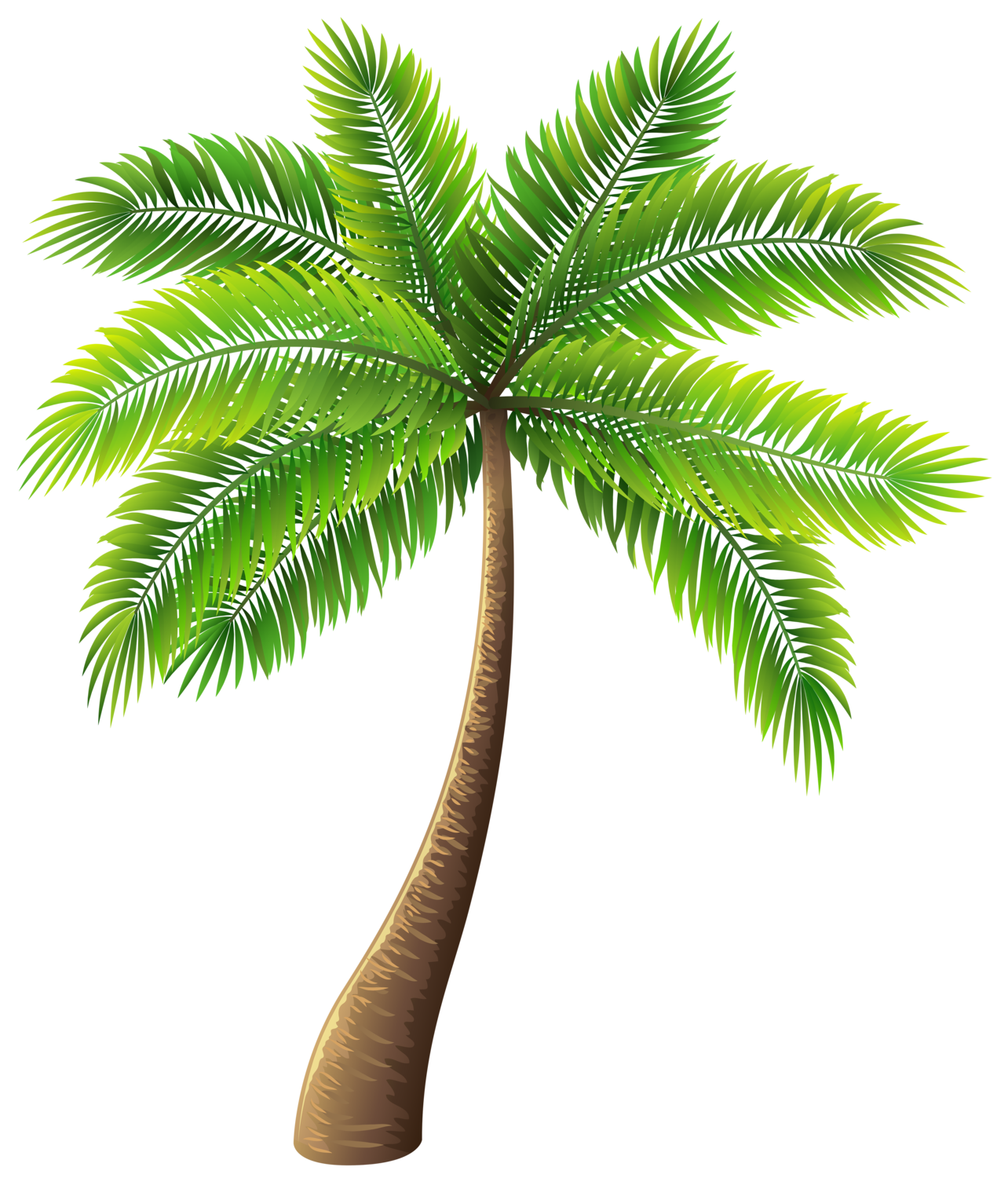 palm tree png clip art #10990