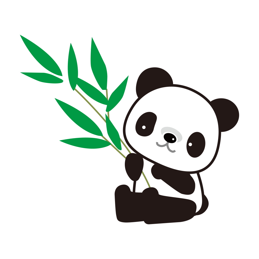 panda clipart bamboo drawing panda bamboo drawing #19888
