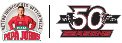 papa johns atlanta and seasons png logo #5078
