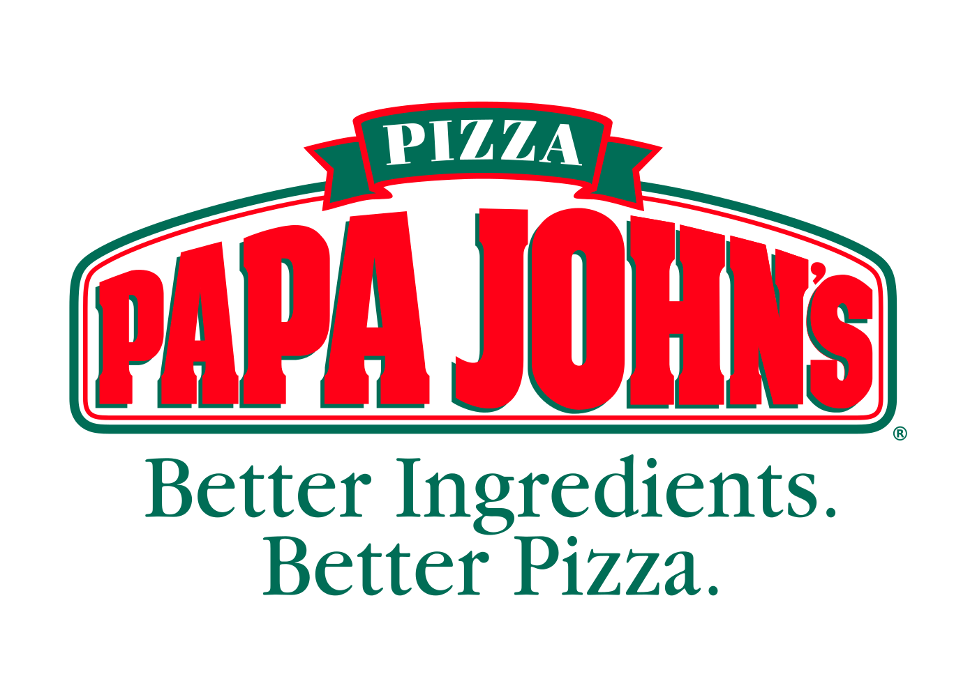 papa johns logo png transparent background #5065