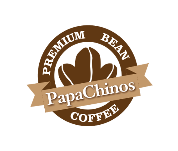 papa chinos coffee png logo #6500