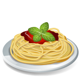 dish pasta spaghetti icon food iconset icons land #21747