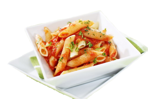 pasta, pizzaon made with original chees and tangy tomato pury #21737