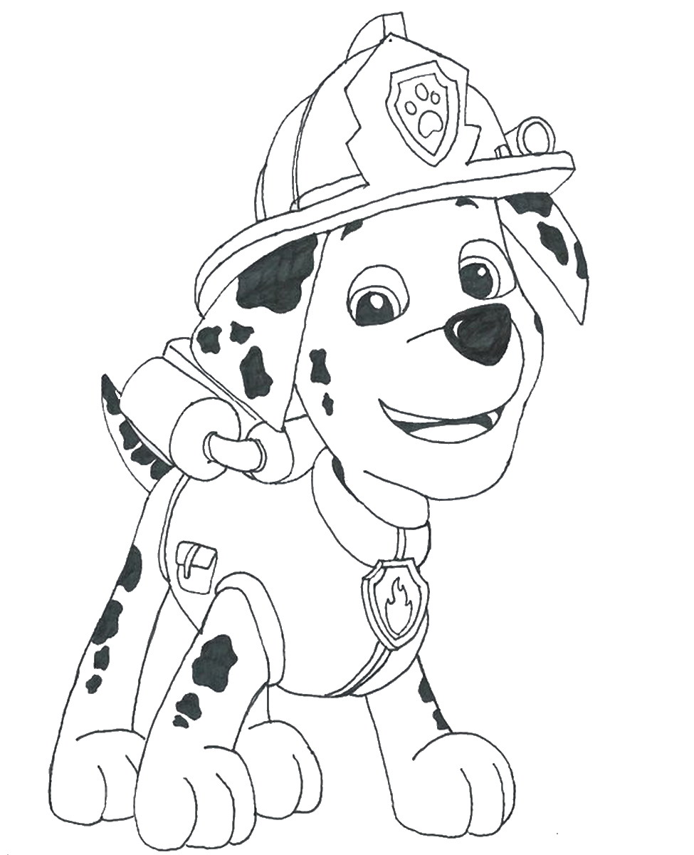 paw patrol kelly colouring pages #2629