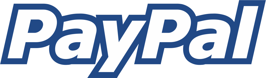 paypal logo border line blue png #2138