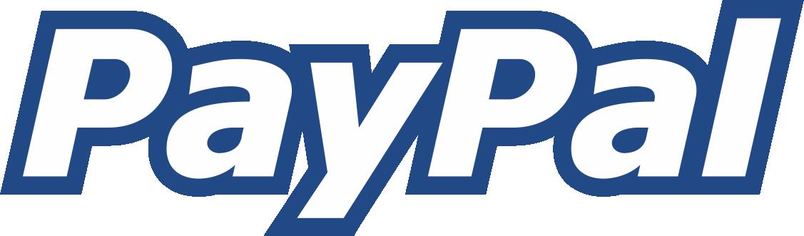 paypal logo border line blue png #2138