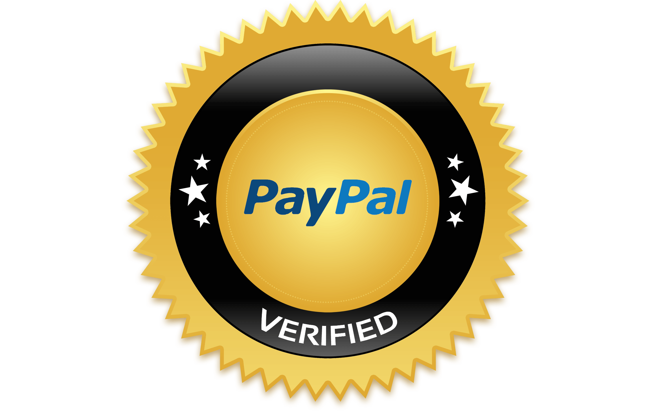 circle, orange, verified paypal logo png #2141