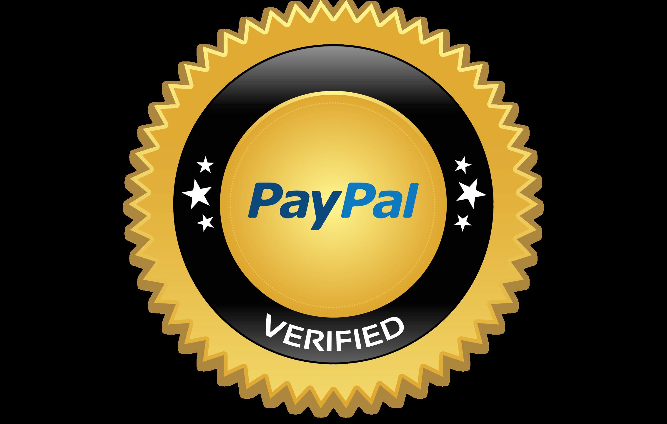 circle, orange, verified paypal logo png #2141