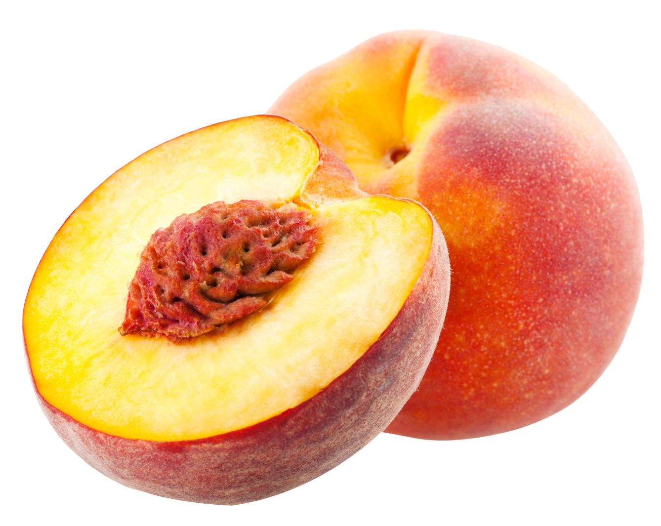 one and half peach png image purepng transparent #34498