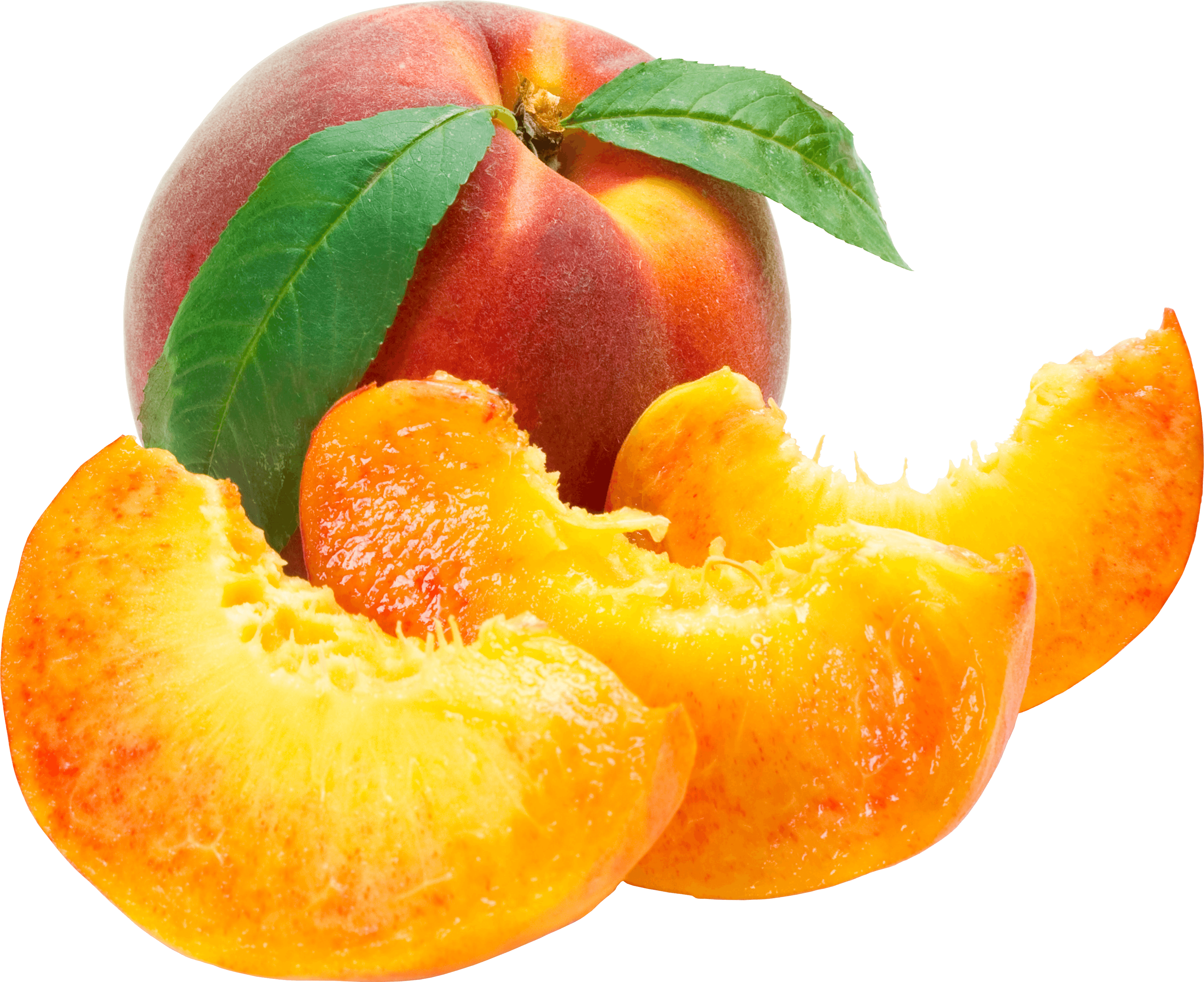 peach download sliced peaches png image png image pngimg #34562