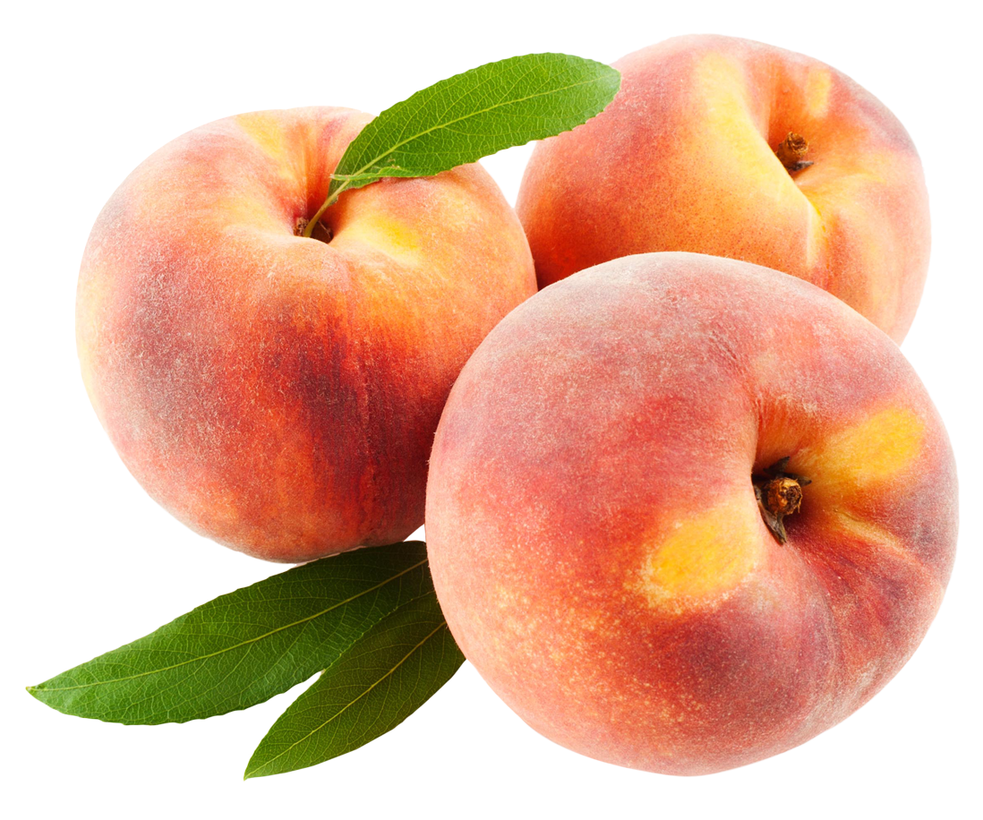 peach fruits with leafs png image pngpix #34560