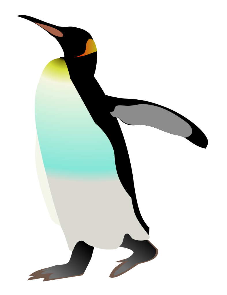 file emperor penguin svg wikimedia commons #35595
