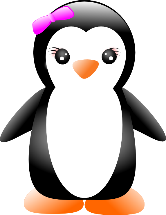 penguin some vector penguins random girly graphics #35648