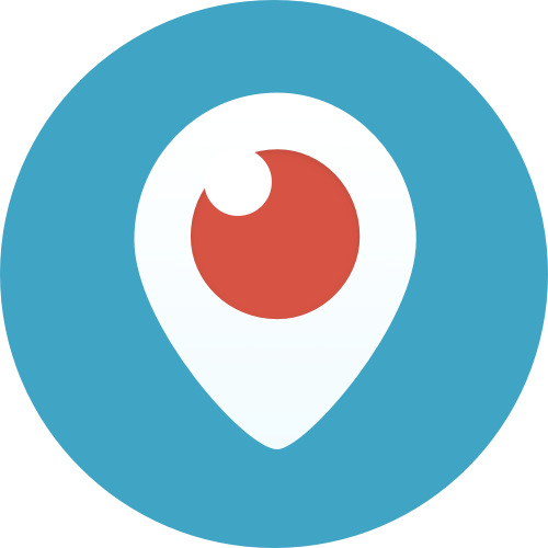 periscope logo color circle png #1977