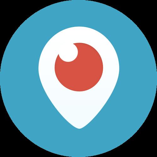 periscope logo color circle png #1977