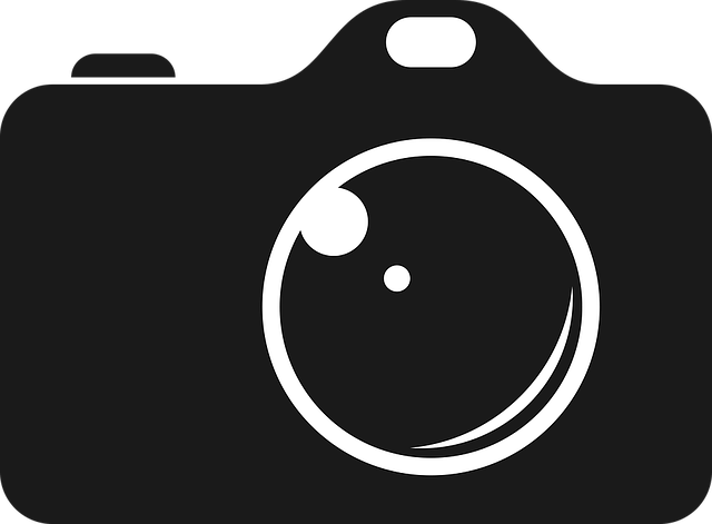 photography logo, camera photo black vector graphic pixabay #25103