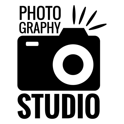 photography logo, photography studio flesh camera transparent png svg vector #25073