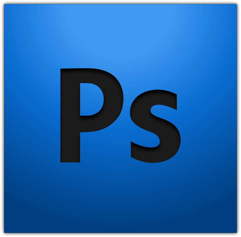 photoshop blue png logo #3102