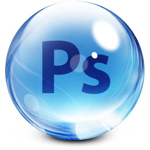 world photoshop png logo
