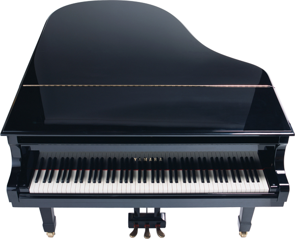 big black grand piano transparent clipart gallery 24458