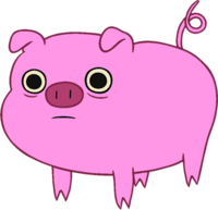 image pig adventure time fanon wiki #23518