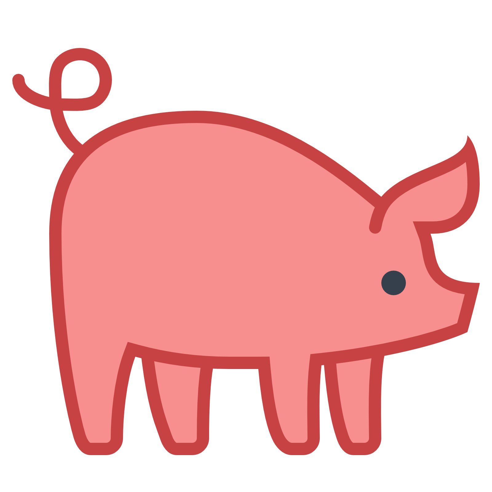 pig icon download icons #23508