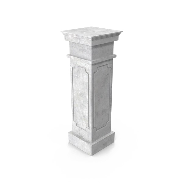 white pillar png #37381