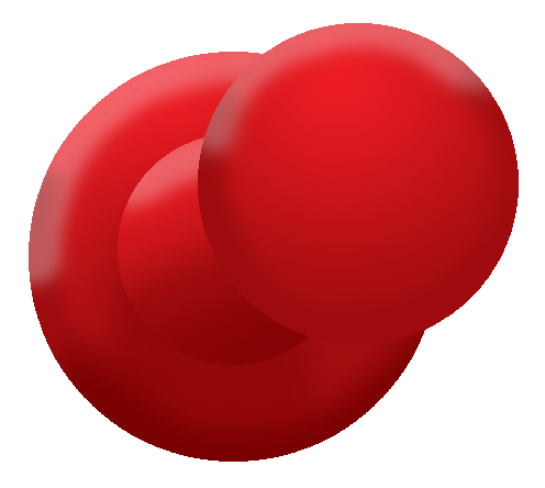 red push pin download clip art clip art #21477