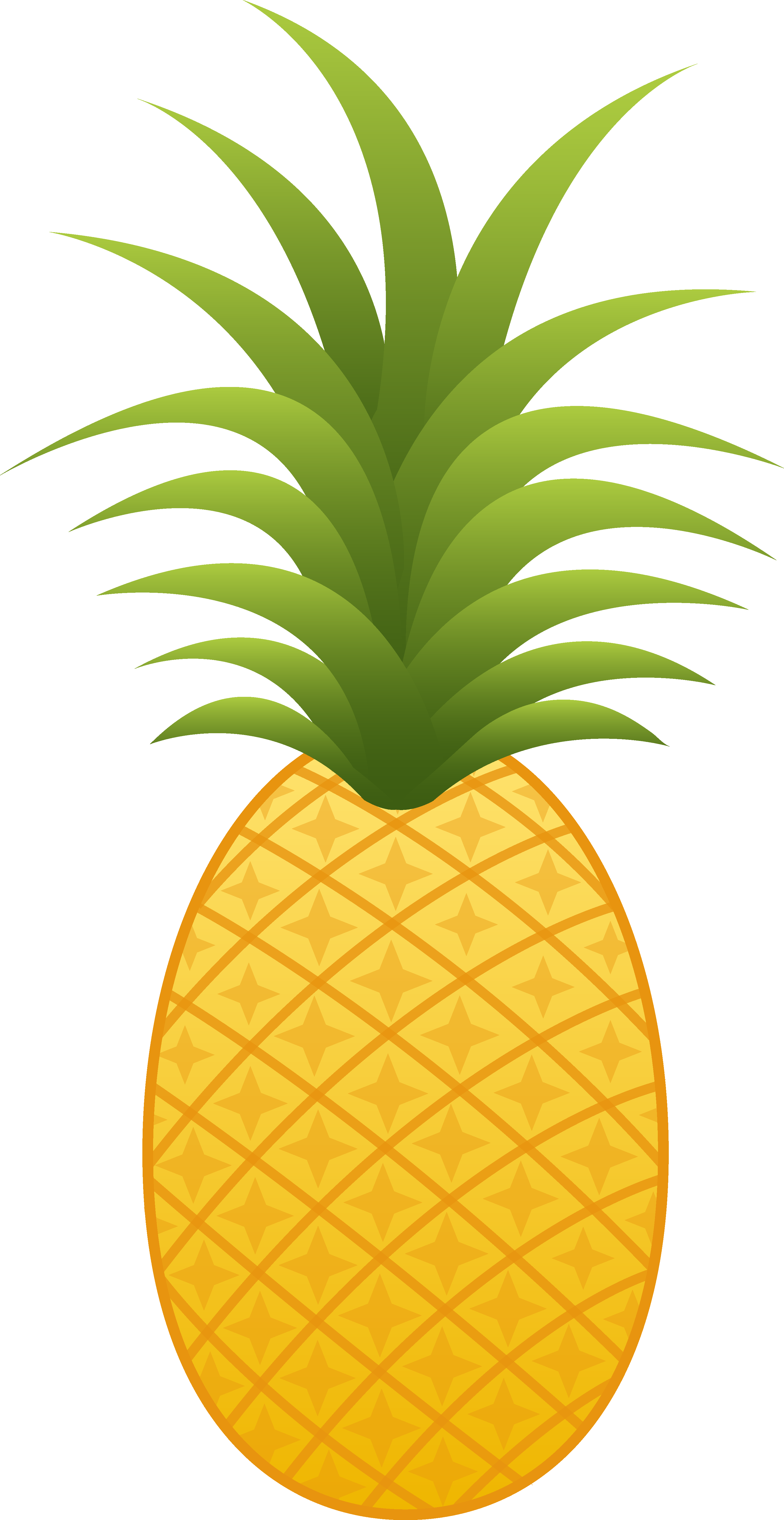 funky pineapple clipart custom cliparts and others #18459