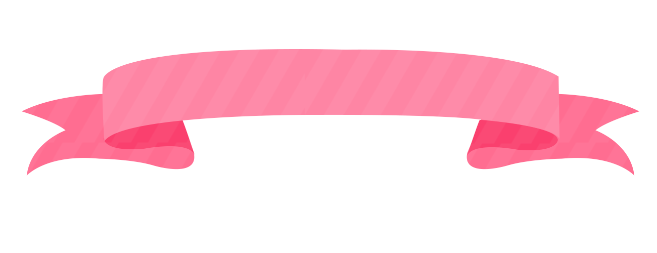 pita download pink beautiful border ribbon hand painted #38162