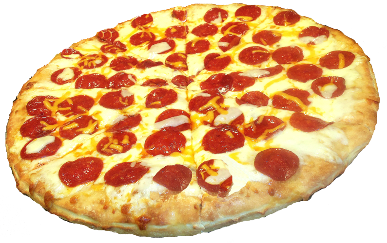 download pepperoni pizza transparent image #7955