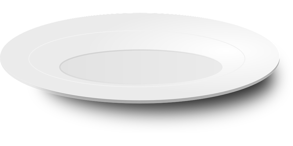 plate porcelain tableware vector graphic pixabay #15061
