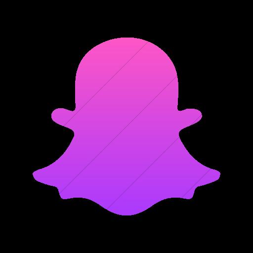 png purple snapchat logo