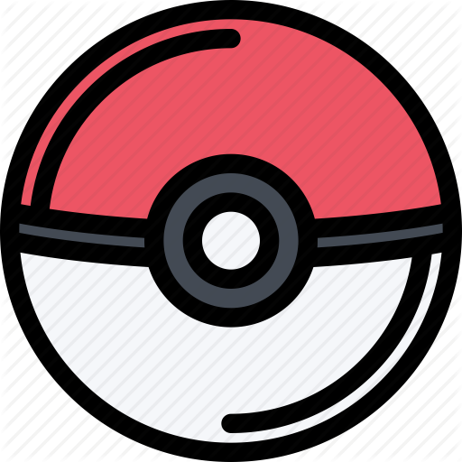casino game party pokeball video game icon #16825