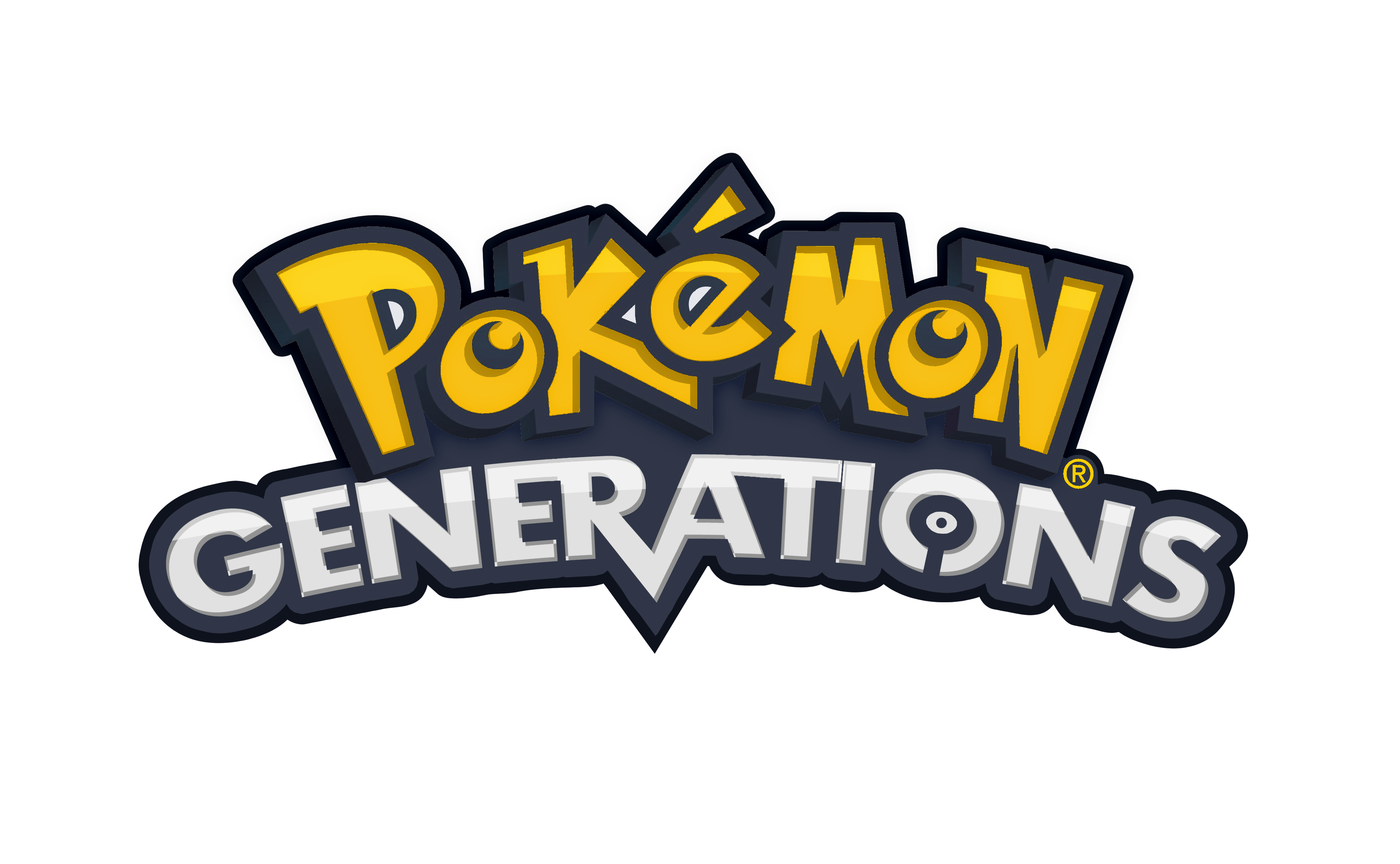 Pokemon Generations Logo  Png #1422